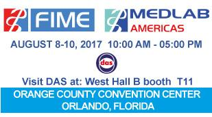 """<h5>Das exhibits at FIME 2017</h5>  <p> DAS exhibits in <a class=""""event_href"""" target=""""_blank"""" href=""""https://www.medlabseries.com/en/home.html"""">MEDLAB </a> at <a class=""""event_href"""" target=""""_blank"""" href=""""https://www.fimeshow.com/en/MEDLAB.html"""">Fime</a> in Orlando, Florida from 8th to 10th of August 2017, West Hall B booth T11, where will be displayed the <a class=""""event_href"""" target=""""_blank"""" href=""""http://www.dasitaly.com/NewSite/wordpress/scheda_ap_22_if_blot_elite/"""">AP 22 BLOT ELITE</a> </p>"""
